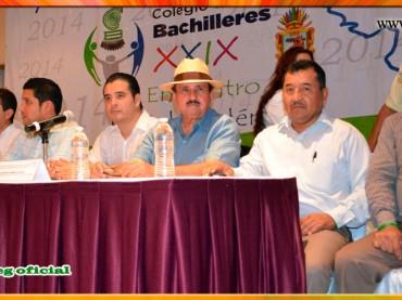 Inauguración del XXIX Encuentro Estatal Académico, Cultural y Deportivo del COBACH