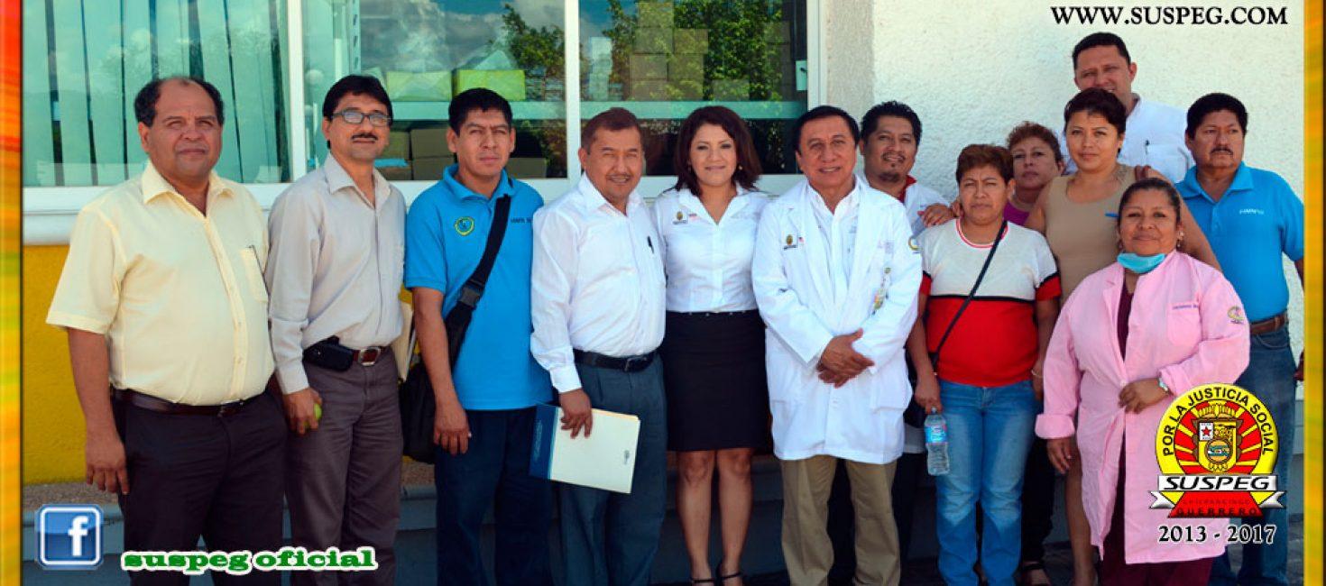 Visita al Hospital de la Madre y el Niño Indígena Guerrerense de Tlapa