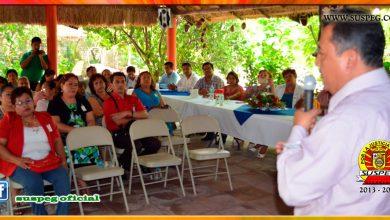 1er. informe del Secretario de la Sección XV de Huamuxtitlán