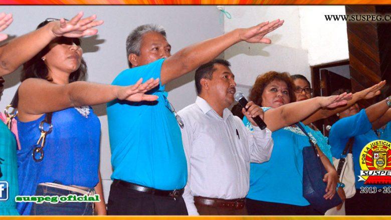4to. informe y elección en la Sección XVII de Huitzuco