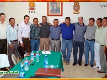 Reunión con supervisores de Telesecundaria de la Región Centro