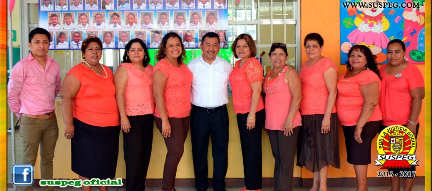 """Clausura del Jardín de Niños """"Margarita Maza de Juárez"""" de El Pedregoso"""