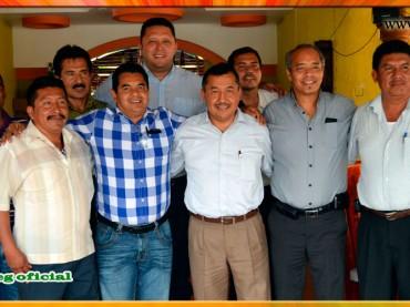 Reunión con el Presidente Municipal de Ayutla de los Libres