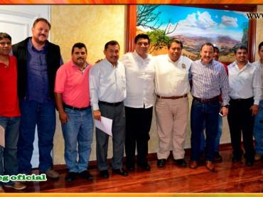 Reunión con el Presidente Municipal de Chilpancingo
