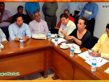 Reunión con el rector de la Universidad Tecnológica de Iguala y Autoridades