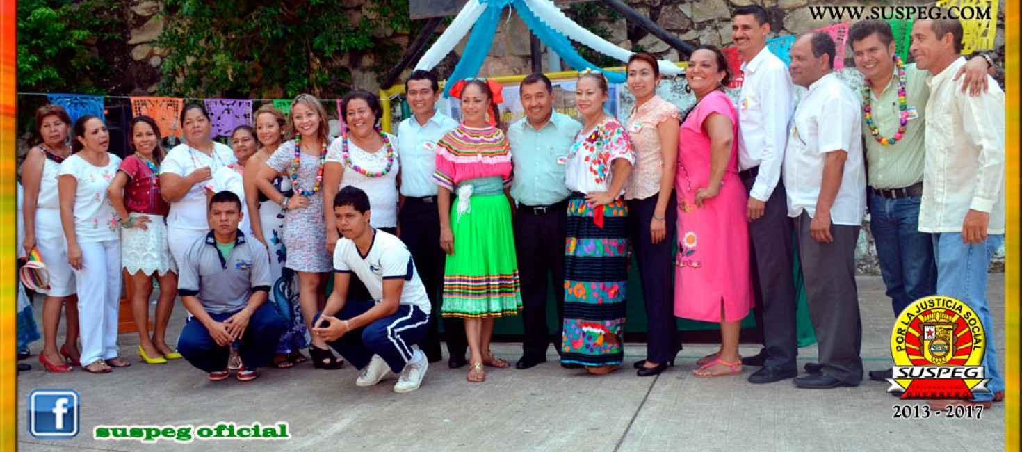 Celebración del 165 Aniversario de la Erección del Estado de Guerrero en el J.N. Bertha Guevara Calvo de Acapulco