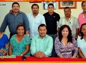 Reunión con docentes de la Escuela Superior de Educación Física