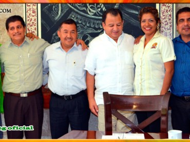 Reunión con el Presidente Municipal de Acapulco