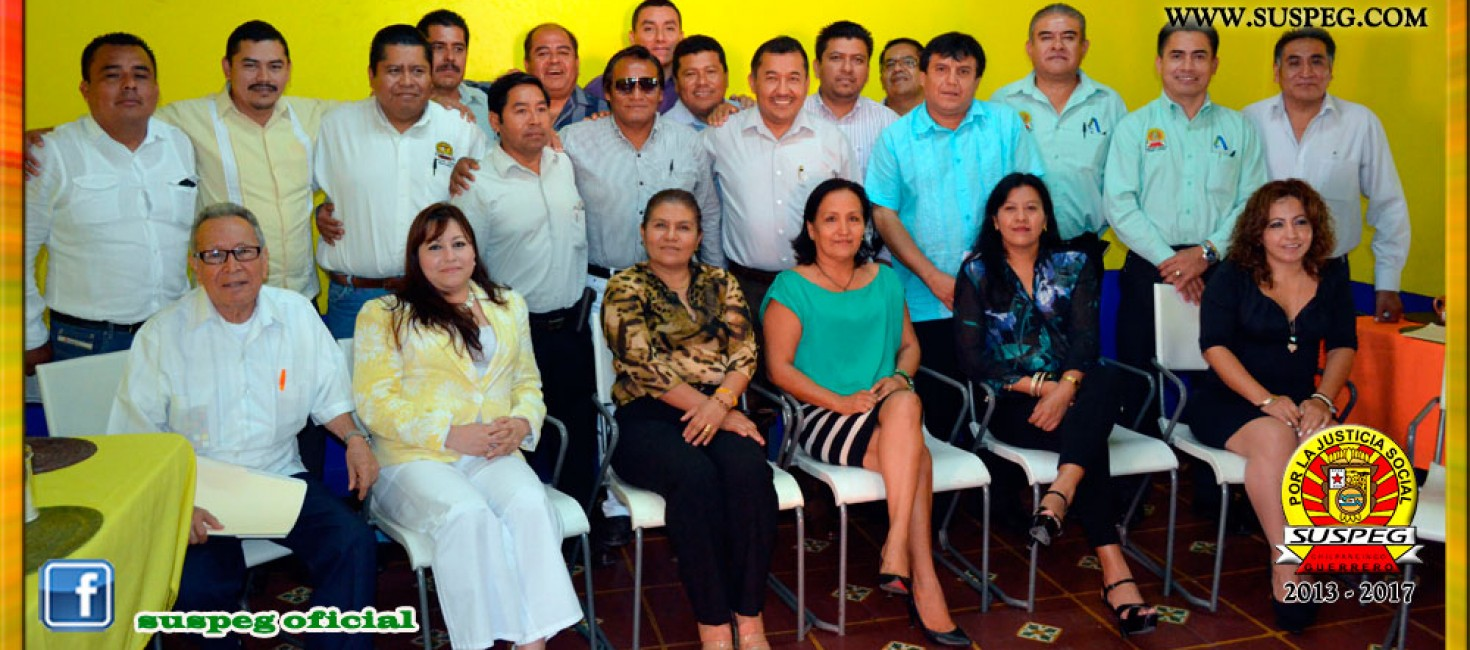 Reunión con Secretarios Generales Seccionales de la Región Centro