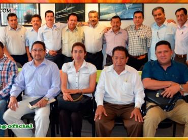 Reunión con supervisores escolares del nivel de Telesecundaria de la Región Centro