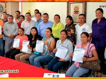 Entrega de Basificaciones a trabajadores de la Sección XXXI del SUSPEG