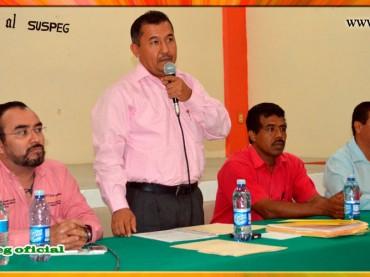 Reunión de Pleno con el Comité Central Ejecutivo del SUSPEG