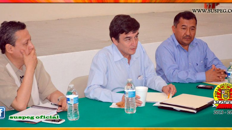 Reunión con el Director de Administración y Desarrollo de Personal del Gobierno del Estado
