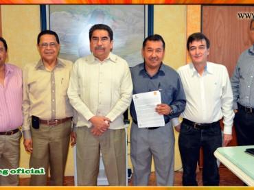 Firma de la Minuta de Acuerdos con Gobierno del Estado