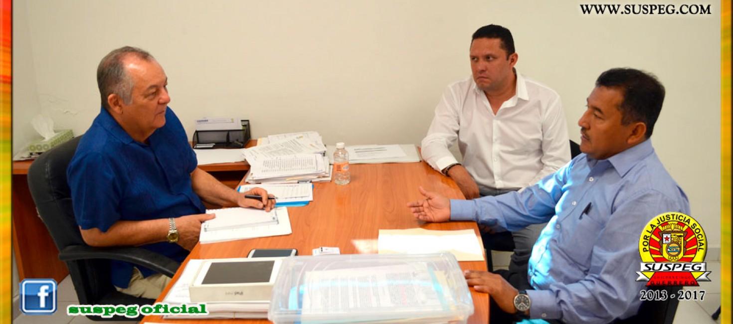 Reunión con el Presidente Municipal Interino de Acapulco