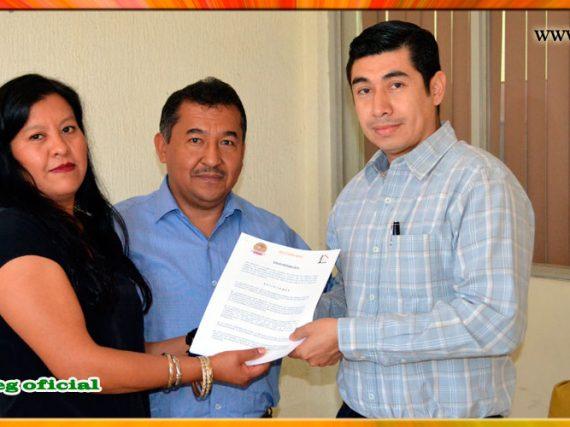 Entrega del Pliego Petitorio al Director General del INVISUR
