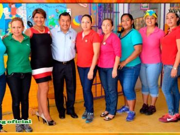 Festejo del Día de la Primavera en el Jardín de Niños Juan E. Pestalozzi de Acapulco