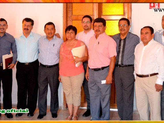 Reunión con el Presidente Municipal Interino del Municipio de Eduardo Neri