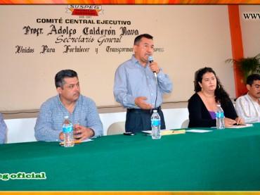 Reunión con los Coordinadores Sindicales de la Sección VII del SUSPEG