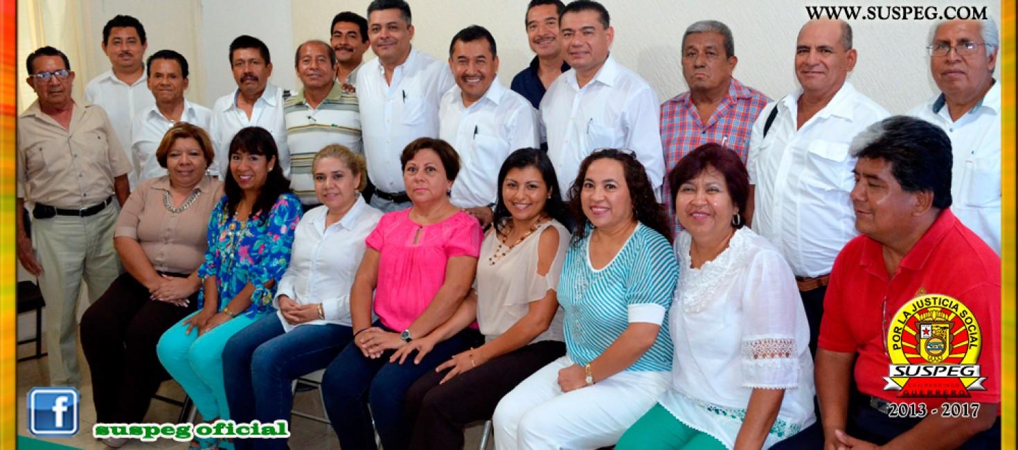 Visita del Comité Ejecutivo de la Sección VII del SUSPEG