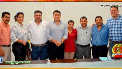 Reunión con el Fiscal General del Estado de Guerrero