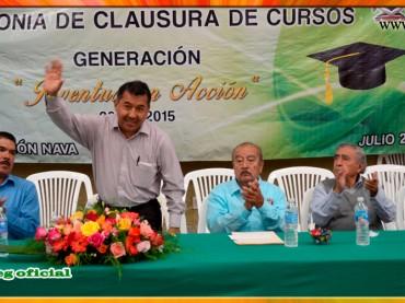 Clausura de la Esc.Sec.Noct. Dr. Raymundo Abarca Alarcón de Chilpancingo