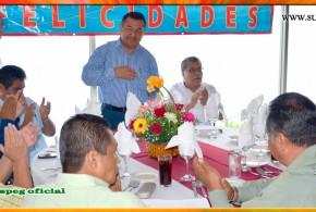 """Festejo del """"XV Aniversario"""" de la fundación de la Sección XL del SUSPEG"""