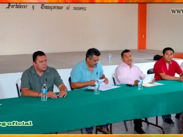 Reunión con Coordinadores de la Sección VII del SUSPEG