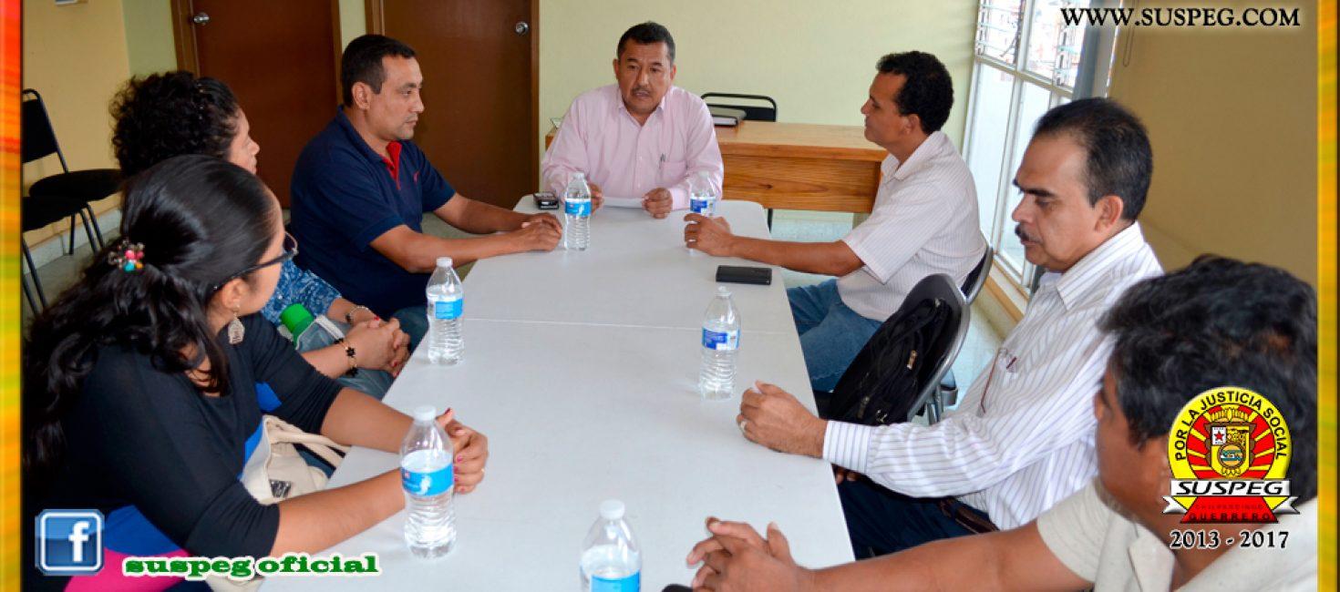 Reunión con docentes participantes en la Etapa 23 de Carrera Magisterial