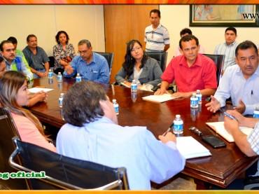 Reunión con el Secretario General de Gobierno