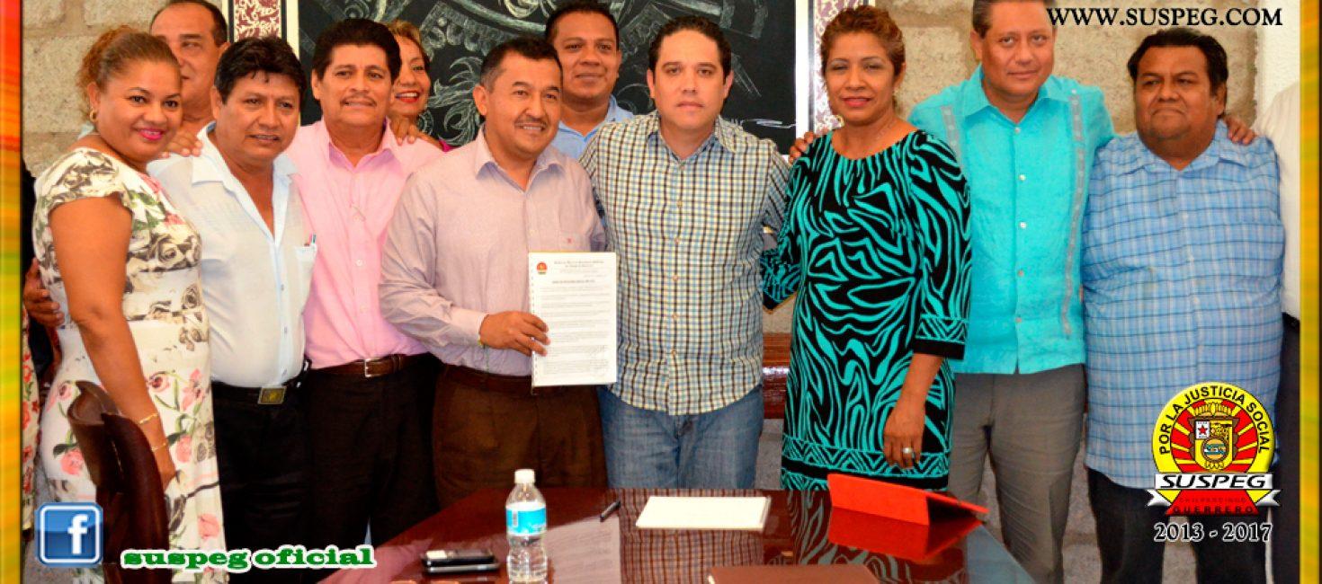 Entrega del Pliego Petitorio 2016 al Presidente Municipal de Acapulco