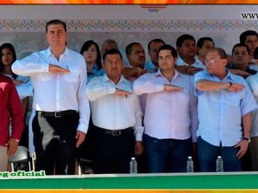 Ceremonia Oficial del 105 Aniversario del Inicio de la Revolución Mexicana