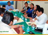 Audiencia a los Secretarios Generales Seccionales de la Región Centro