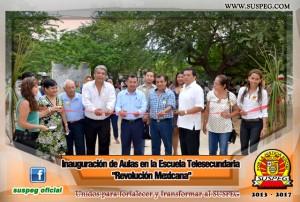 Inauguración-Aulas-Escuela-Telesecundaria-Revolución-Mexicana-suspeg-1