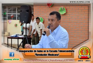 Inauguración-Aulas-Escuela-Telesecundaria-Revolución-Mexicana-suspeg-3