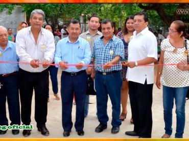 """Inauguración de 3 Aulas en la Escuela Telesecundaria """"Revolución Mexicana"""", de la Col. Nueva Revolución de Acapulco"""