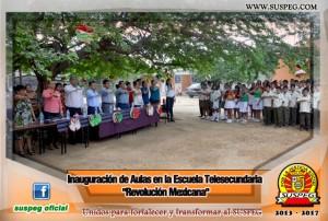 Inauguración-Aulas-Escuela-Telesecundaria-Revolución-Mexicana-suspeg-6