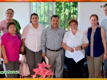 Visita de Cortesía a la Presidenta Municipal de Buena Vista de Cuellar