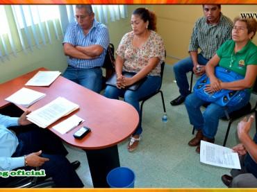 Reunión con los Secretarios Generales Seccionales de la Región Costa Chica