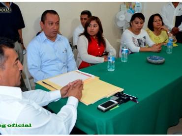 Audiencia al Secretario General de la Sección LV del SUSPEG