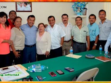 Reunión con la Asociación de Supervisores Escolares