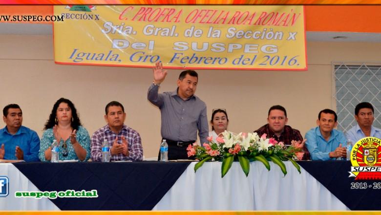 Tercer Informe de la Secretaria General de la Sección X del SUSPEG