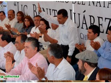 Ceremonia del 210 Aniversario del Natalicio del Lic. Benito Juárez García