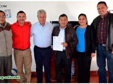 Entrega del Pliego Petitorio al Presidente Municipal de Leonardo Bravo