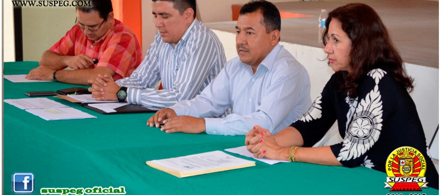 Reunión con Representantes del Instituto Nacional para la Evaluación de la Educación en Guerrero