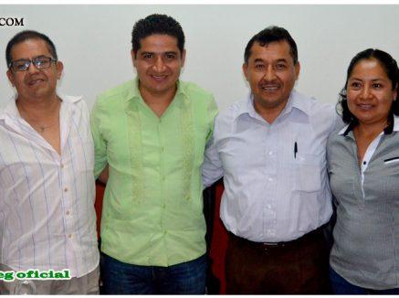 Reunión de Acercamiento con el Presidente Municipal de Tixtla