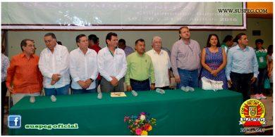 Inauguración de los Juegos Conmemorativos al 71 Aniversario del SUSPEG