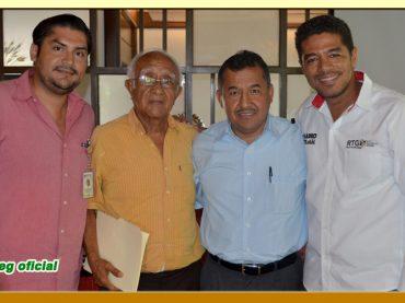 Primer Reunión con el Director General de Radio y Televisión de Guerrero (RTG)