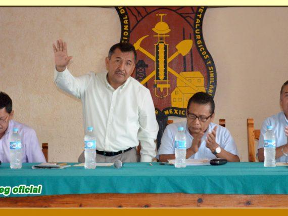Reestructuración del Comité Ejecutivo de la Sección XXXVI del SUSPEG