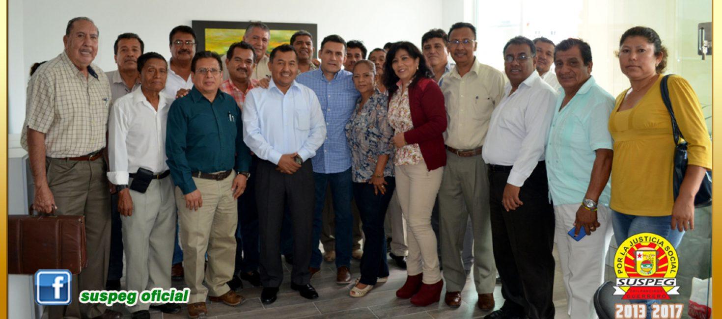 Reunión con Integrantes de la Asociación de Supervisores Escolares y el Director General de Personal